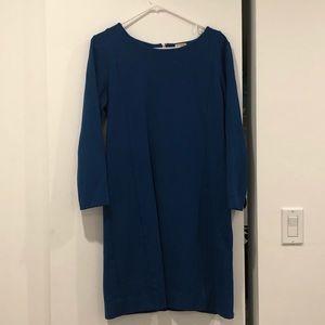 Blue JCREW dress size medium